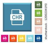 chr file format white icons on... | Shutterstock .eps vector #1200234193