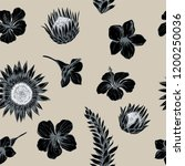 vector seamless pattern of...   Shutterstock .eps vector #1200250036