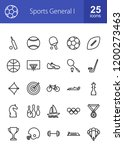sports line icons | Shutterstock .eps vector #1200273463