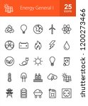 energy line icons | Shutterstock .eps vector #1200273466