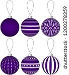 Collection Of Purple Christmas...