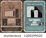 electronics  computers or... | Shutterstock .eps vector #1200299020