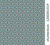 oriental traditional pattern.... | Shutterstock .eps vector #1200301519