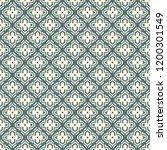 oriental traditional pattern.... | Shutterstock .eps vector #1200301549