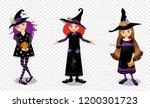 halloween vector illustration... | Shutterstock .eps vector #1200301723
