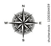 navigation compass sign  rose... | Shutterstock .eps vector #1200304459