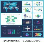 creative business infographic... | Shutterstock .eps vector #1200306493