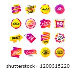 sale banner templates design....   Shutterstock .eps vector #1200315220
