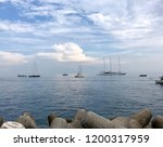 beautiful sea view from amalfy... | Shutterstock . vector #1200317959