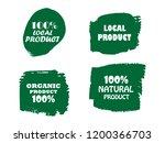 organic  bio  eco  natural...   Shutterstock .eps vector #1200366703