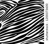 seamless zebra stripe pattern.... | Shutterstock .eps vector #1200373600