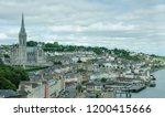 cobh  ireland   august 20  2018 ... | Shutterstock . vector #1200415666