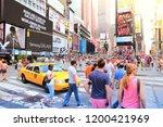 new york  usa   july 4  2013 ... | Shutterstock . vector #1200421969