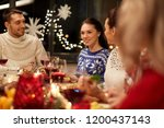 holidays and celebration... | Shutterstock . vector #1200437143