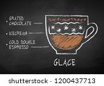 vector chalk drawn sketch of... | Shutterstock .eps vector #1200437713