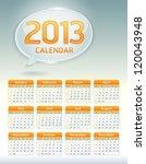 Clean Calendar 2013 Template ...