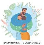 vector cartoon illustration of...   Shutterstock .eps vector #1200439519