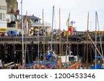 Bridlington Harbour  Yorkshire  ...