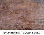 wooden old texture of brown... | Shutterstock . vector #1200453463