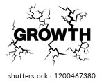 expansive unstable growth is... | Shutterstock .eps vector #1200467380
