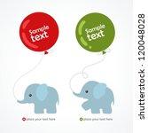elephant | Shutterstock .eps vector #120048028
