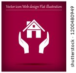 protection and home insurance... | Shutterstock .eps vector #1200480949