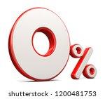 3d render illustration. red...   Shutterstock . vector #1200481753