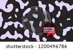 trendy liquid shapes... | Shutterstock .eps vector #1200496786