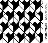 seamless geometric patter  ... | Shutterstock .eps vector #1200498043