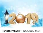 new year's background with a... | Shutterstock .eps vector #1200502510
