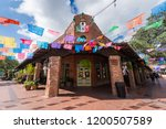 Historic Market Square Mexican Shopping Center tourist destination in San Antonio Texas...