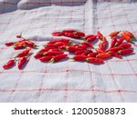 high resolution chili peppers... | Shutterstock . vector #1200508873
