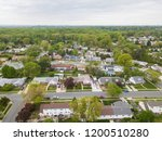 aerial of parkville homes in... | Shutterstock . vector #1200510280