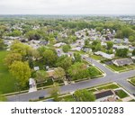 aerial of parkville homes in... | Shutterstock . vector #1200510283