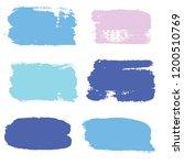 brush strokes set backgrounds....   Shutterstock .eps vector #1200510769