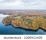 aerial of loch raven reservoir... | Shutterstock . vector #1200511420
