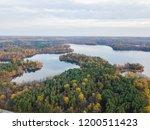 aerial of loch raven reservoir... | Shutterstock . vector #1200511423