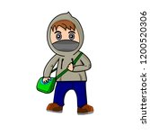 simple male character.... | Shutterstock .eps vector #1200520306