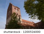 old church of koge  a seaport... | Shutterstock . vector #1200526000