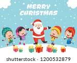 vector illustration of christmas | Shutterstock .eps vector #1200532879