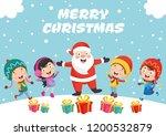 vector illustration of christmas | Shutterstock .eps vector #1200532879