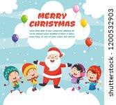 vector illustration of christmas | Shutterstock .eps vector #1200532903
