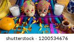 traditional mexican  day of the ...   Shutterstock . vector #1200534676