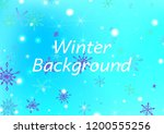 seamless winter texture with... | Shutterstock .eps vector #1200555256