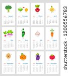 funny monthly calendar 2019... | Shutterstock .eps vector #1200556783