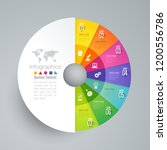 infographics design vector and... | Shutterstock .eps vector #1200556786