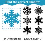 find the correct shadow of... | Shutterstock .eps vector #1200556840