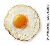 fried egg isolated | Shutterstock . vector #120056890