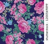 floral seamless pattern design  ...   Shutterstock .eps vector #1200569899