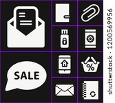 collection of 10 message filled ...   Shutterstock .eps vector #1200569956